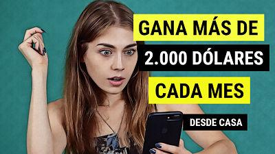 ¿Cómo ganar 2.000 dólares al mes en España sin papeles, experiencia ni títulos?